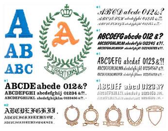 写真:ブラザー 刺しゅうカード「ABCのスケッチブック」
