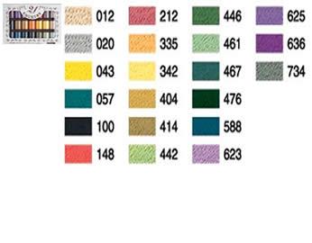 写真:ブラザー 刺しゅう糸「カントリー21色セット」
