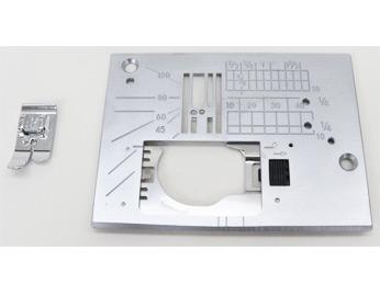 写真:ジャノメミシン 「直線用針板&押さえセット(ME830シリーズ用)」 (家庭用ミシン)