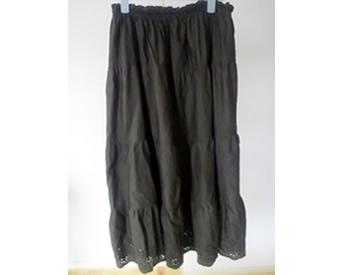 涼しい!らくちん♪のロングスカート