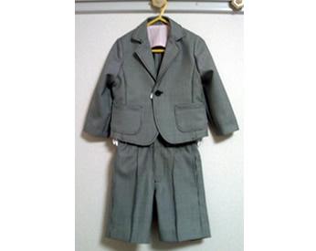 入園式用スーツを作りました!