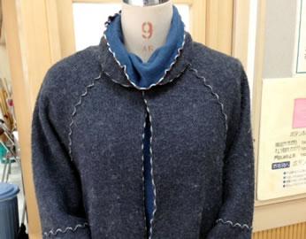 某百貨店有名ブランドのジャケットを自作しました