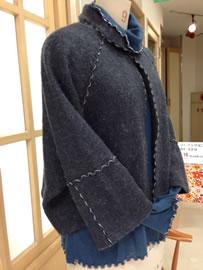 写真:某百貨店有名ブランドのジャケットを自作しました