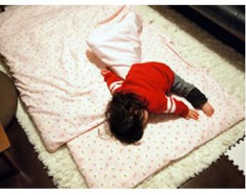 保育園でのお昼寝布団カバー