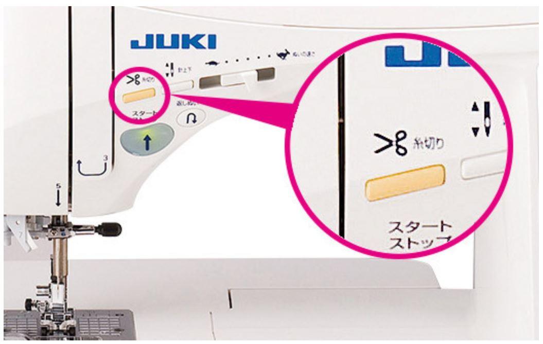 【自動糸切り機能つきフットコントローラー】
