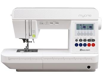 写真:ハッピージャパン コンピューターミシン「mycrie(ミクリエ)FFH-6000」