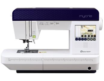 ハッピージャパン コンピューターミシン 「mycrie (ミクリエ) FFH-8000」